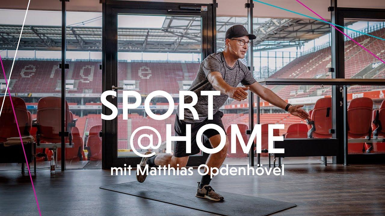 Sport Home Mit Matthias Opdenhovel Youtube
