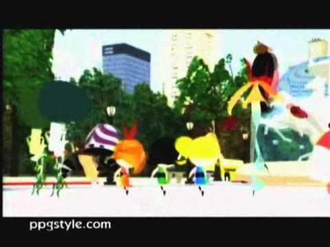 Powerpuff Girls-Banana Zoo