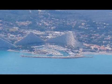 Flying into Nice airport