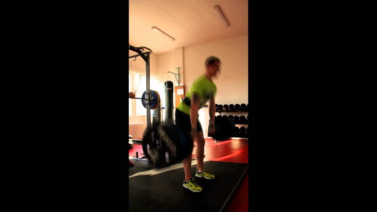 17 years old Jakub Enzl - 150kg deadlift for max reps by FoxHill720
