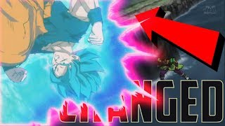 The CHANGED Scene In Dragon Ball Super Broly Movie 2018