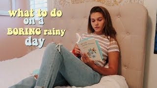 Скачать What To Do On A Boring Rainy Day FUN Things To Keep You Busy Emma Marie
