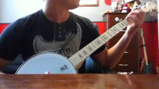 Fighting Texas Aggie War Hymn : Banjo Cover