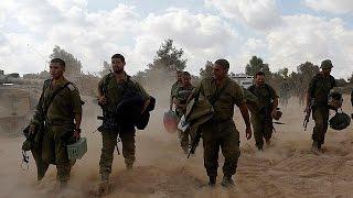 Israel zieht Bodentruppen ab
