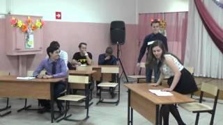 11 класс поздравляет учителей...Очень смешно Внутренний голос