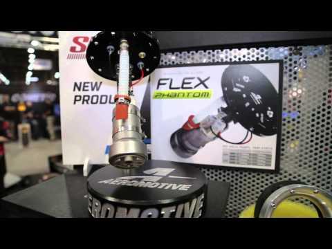 SEMA 2014 - Aeromotive's Flex Phantom Fuel Pump is Designed for E85 from the Ground Up