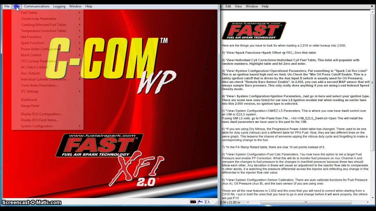 FAST Tech | FAST Man EFI, Fuel Injection, California