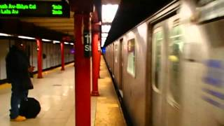 MTA New York City Subway R142 (2) Train leaves Central Pk North-110 Street