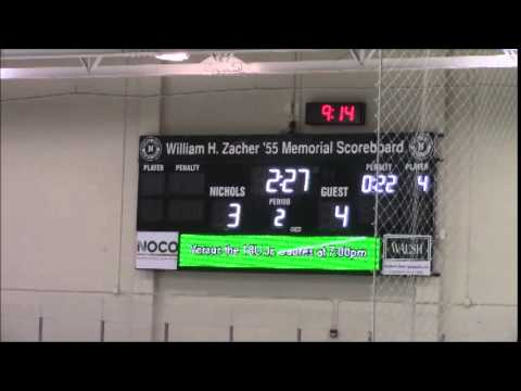 Rochester Red Wings at West Seneca Wings Full Game December 5 2014