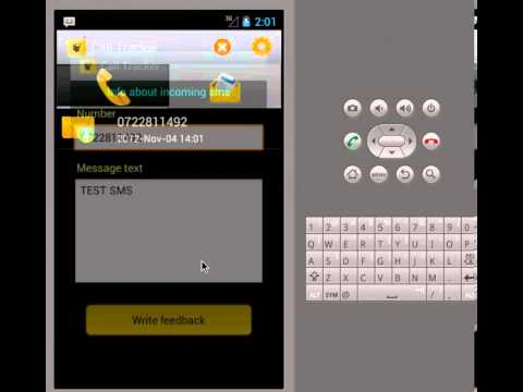 Call Tracker Application - YouTube
