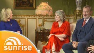 Downton Abbey movie: Phyllis Logan, Hugh Bonneville, Elizabeth McGovern and Jim Carter   Sunrise