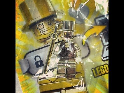I FOUND MR GOLD!!! unboxing video of LEGO minifigure SERIES 10 super ...