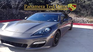 2013 Porsche Panamera Turbo POV Test Drive & Review