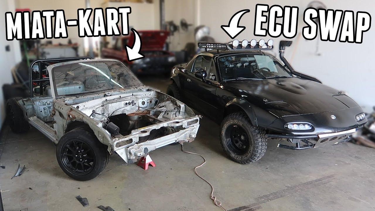 offroading-fun-ecu-swap-miata-kart-progress