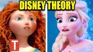 This Is How Brave Is Connected To Frozen (Disney Theory)