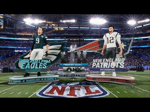 SUPERBOWL LII Eagles vs Patriots Intro (HD)