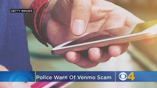 Local Police Warn Of Venmo Scam