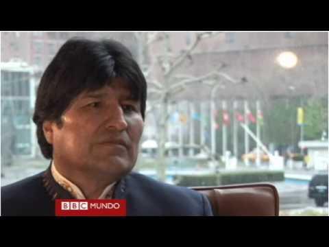 President of Bolivia Evo Morales Interview