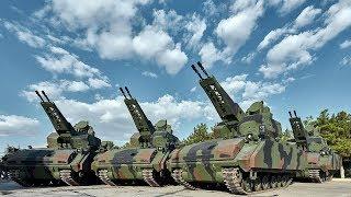 ВС Турции получили 10 отечественных ЗСУ Korkut