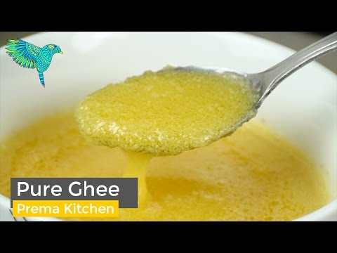 Purest Ghee From Unsalted Butter, Clarified Butter, Ghee From Butter, Traditional Homemade Ghee