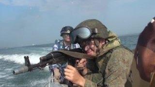 Масштабные учения флотов России и Китая  вражескую подлодку нашли и задержали