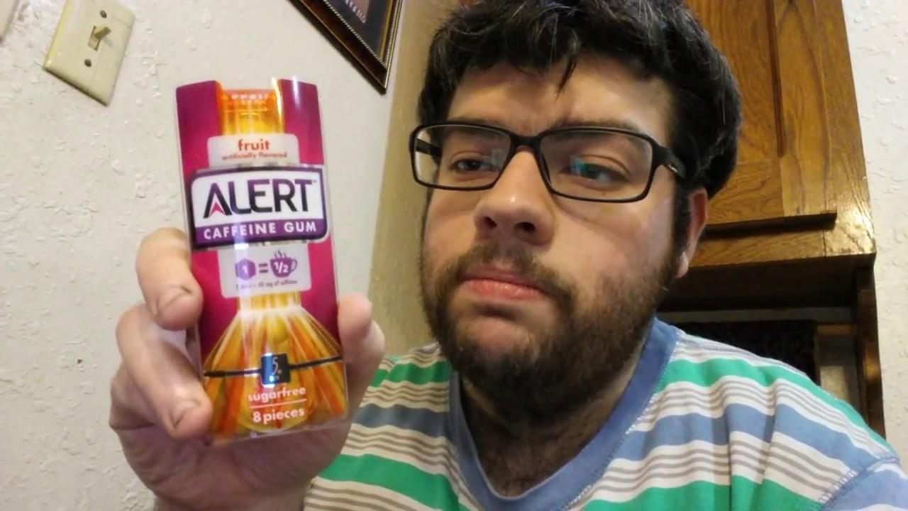 Deadcarpet Energy Drink Reviews - Fruit Alert Caffeine Gum