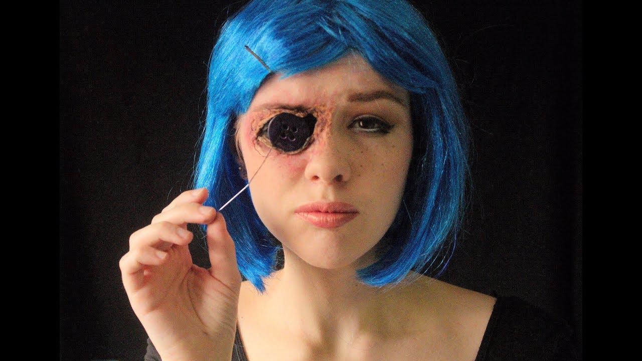 Coraline Button Eye Makeup Tutorial Youtube