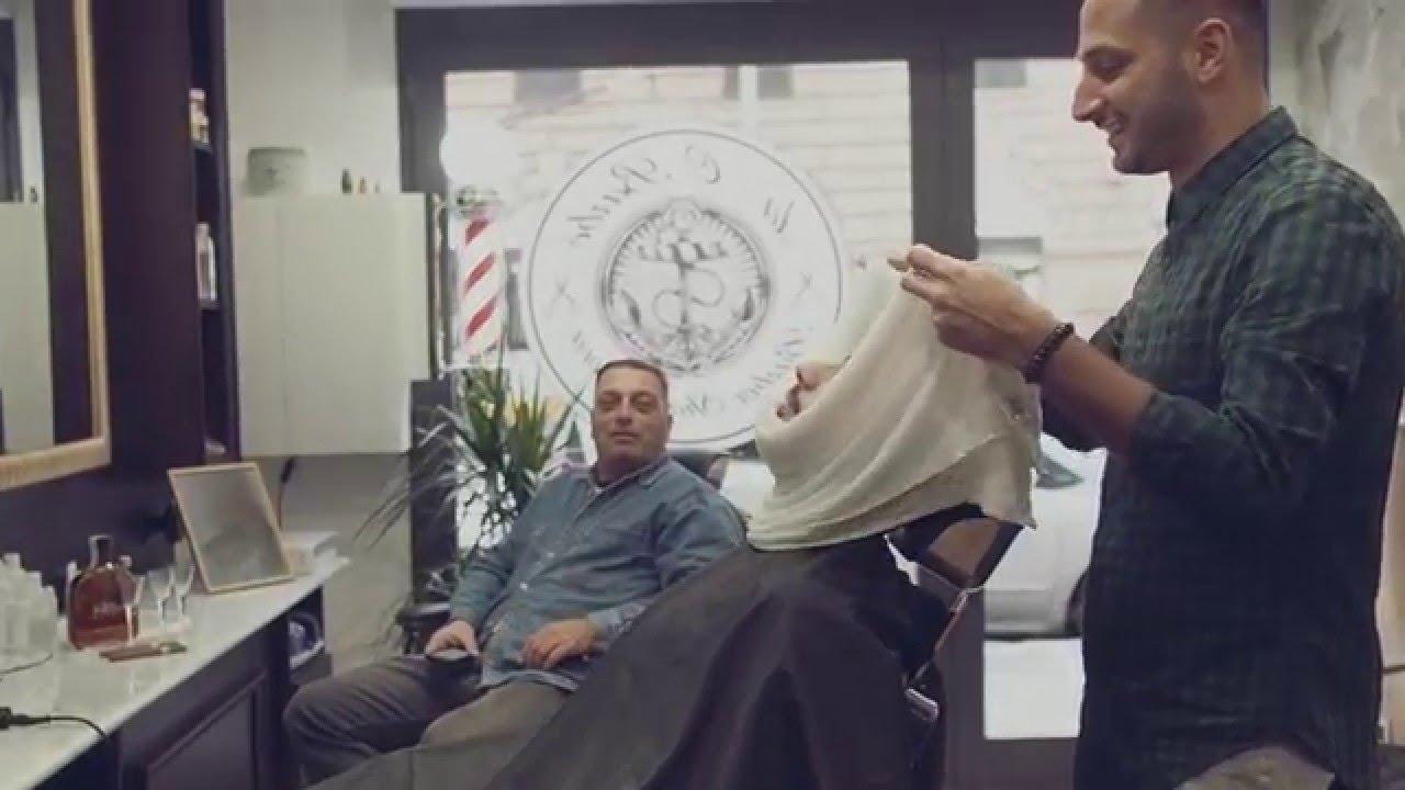 Realizzazione da o barb genova sen martin youtube for Sen martin arredo per barber shop
