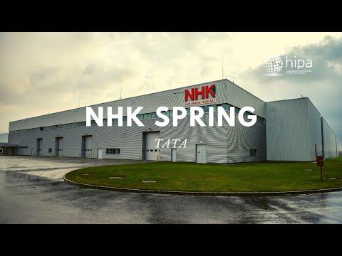 HIPA NEWS - NHK Spring has tripled their European headquarters in Tata