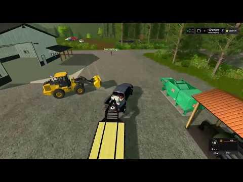 Farming Simulator 17 |  Wood Meadow Farm  | Mining Map