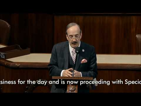 Congressman Eliot Engel Floor Remarks on Kosovo & Serbia on 3-22-17