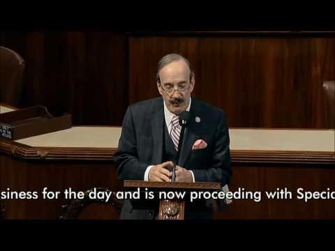 Congressman Eliot Engel Floor Remarks on Kosovo & Serbia 3 22 17