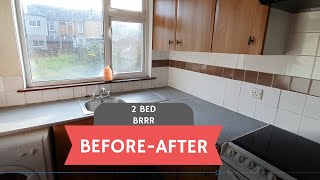 Before / After - 2 bed BRRR -  Methil, Scotland