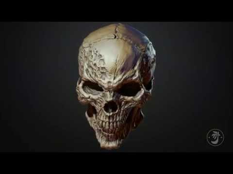 Horror Skull Turntable - YouTube  Horror Skull Tu...