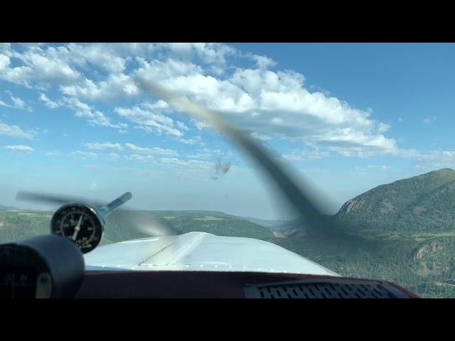 Taking off in Telluride KTEX