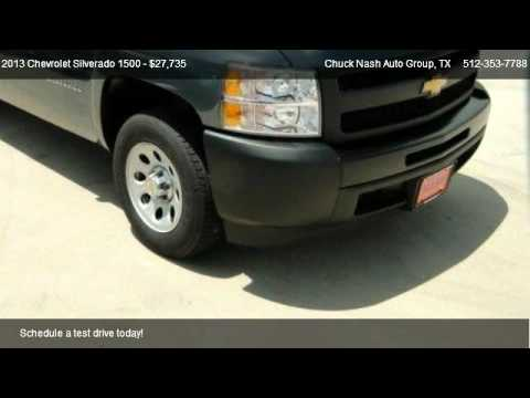 2013 chevrolet silverado 1500 work truck for sale in san marcos tx 78667 youtube. Black Bedroom Furniture Sets. Home Design Ideas