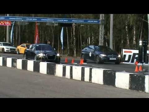 Audi RS6 Sportmile 800+ vs BMW M550 550hp