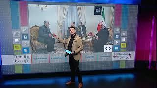 بي_بي_سي_ترندينغ:  ما هي حقيقة غياب العلم السوري عن لقاءات بشار الأسد مع خامنئي وروحاني في طهران؟