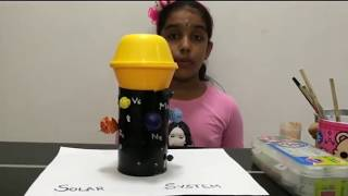 Solar System Model for Kids by Janma Palaksha, Grade-3