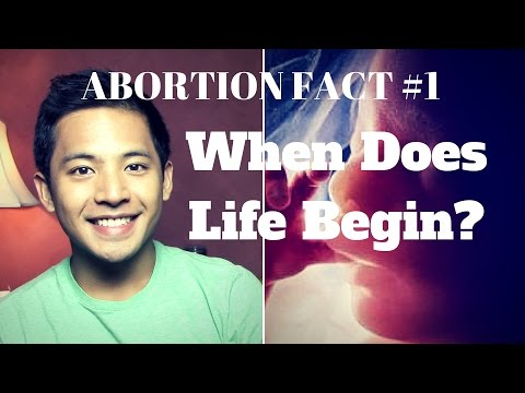 Abortion Facts #1: When Does Life Begin?
