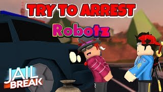 MY FIRST TIME TARGETING A YOUTUBER ON ROBLOX! [Robotz]
