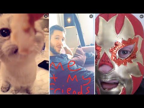 Calvin Harris | Snapchat Videos Compilation (August 2015)