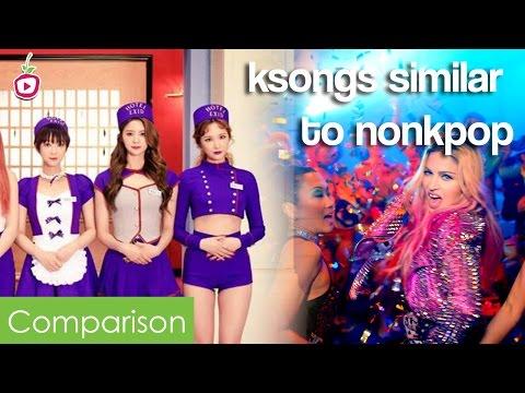 3 KSongs Similar to Non-KPOP Songs