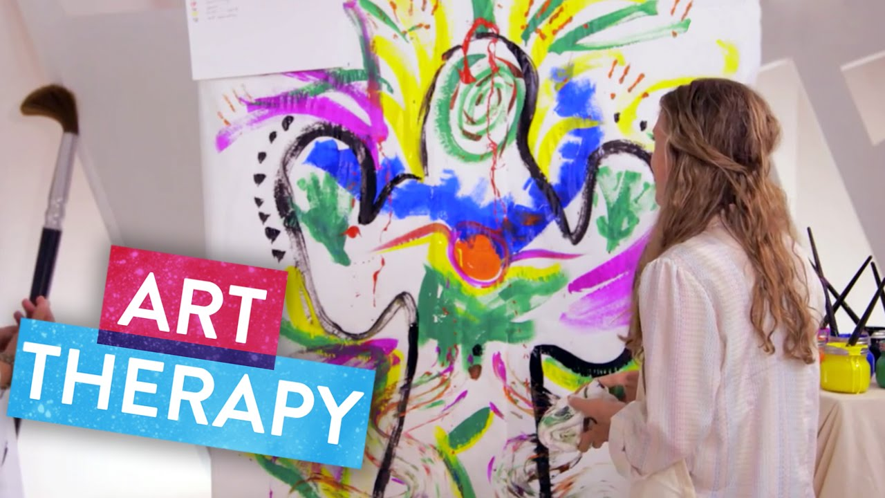 How does art therapy heal the soul the science of happiness youtube solutioingenieria Image collections