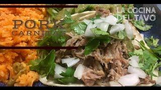 Pork Carnitas (The Traditional Way)