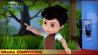 Vir : The Robot Boy | Drama Competition | 3D Action shows for kids | WowKidz Action