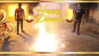 Fun With Crackers On Diwali Festival 2019 | PART-1
