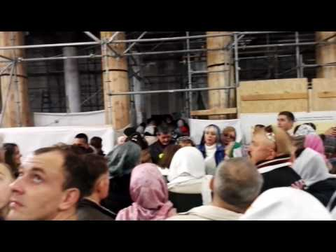 The Russian Orthodox Church Christmas at the Church of the Nativity, Bethlehem
