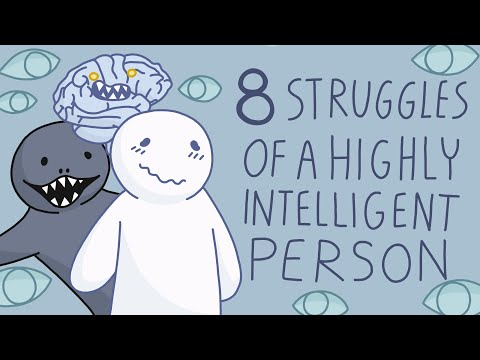 8 Struggles of Being a Highly Intelligent Person