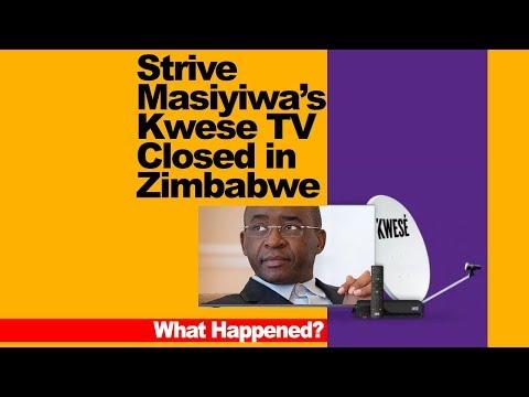 Breaking, Strive Masiyiwa's Kwese TV Closed in Zimbabwe, What Happened?